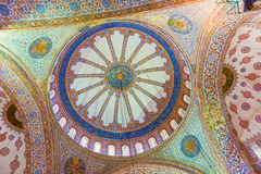 The Sultan Ahmed Mosque is a historic mosque in Istanbul, Turkey Stock Photography