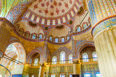 The Sultan Ahmed Mosque is a historic mosque in Istanbul, Turkey Royalty Free Stock Photos