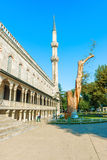 The Sultan Ahmed Mosque is a historic mosque in Istanbul, Turkey Stock Photo