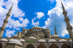 Sultan Ahmed Mosque - Istambul, Turquia fotos de stock royalty free