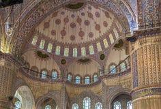 Sultan Ahmed Mosque, Istanboel Royalty-vrije Stock Afbeelding