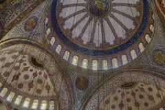 Sultan Ahmed Mosque, Istanboel Stock Afbeeldingen