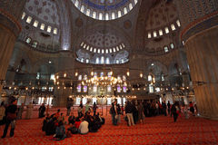 Sultan Ahmed Mosque Istanbul Stock Photos