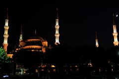 Sultan-Ahmed-Mosque Istanbul Royalty Free Stock Images