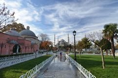 Sultan Ahmed Mosque in Istanbul lizenzfreies stockbild