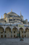 Sultan Ahmed Mosque, Istanbul. The Sultan Ahmed Mosque known as the Blue Mosque is an historic mosque in Istanbul. View from inner courtyard Stock Photos