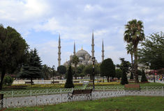 Sultan Ahmed Mosque ,Istanbul,Turkey. Stock Photo