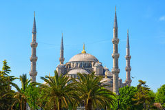Sultan Ahmed Mosque in Istanbul Stock Photos