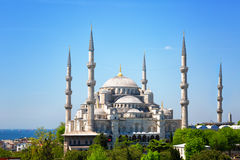 Sultan Ahmed Mosque in Istanbul Royalty Free Stock Photo