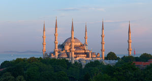 The Sultan Ahmed Mosque. Istanbul, Turkey Royalty Free Stock Images