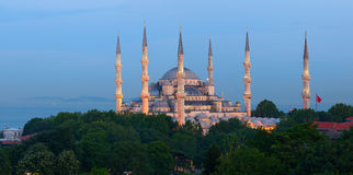 The Sultan Ahmed Mosque. Istanbul, Turkey Stock Photography