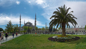 Sultan Ahmed Mosque. Royalty Free Stock Image