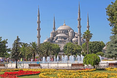 Sultan Ahmed Mosque in Istanbul, Turkey. Royalty Free Stock Image