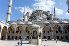 Sultan Ahmed Mosque Stock Image