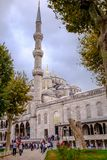 Sultan Ahmed Mosque in istanbul turkey Royalty Free Stock Images