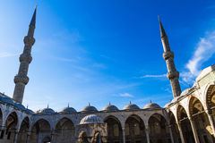 Sultan Ahmed Mosque, Istanbul Turkey Royalty Free Stock Photo
