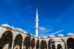 Sultan Ahmed Mosque, Istanbul Turkey Stock Photo