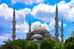 Sultan Ahmed Mosque - Istanbul, Turquie Images libres de droits
