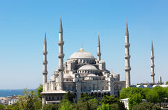 Sultan Ahmed Mosque in Istanbul Royalty Free Stock Photos