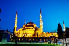 Sultan Ahmed Mosque (mesquita azul) em Istambul Fotos de Stock