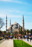 Sultan Ahmed Mosque (moschea blu) a Costantinopoli Immagini Stock Libere da Diritti
