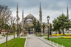 Sultan Ahmed Mosque/mosquée bleue, Istanbul, Turquie images stock