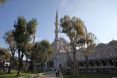 Sultan Ahmed Mosque, o moschea blu, a Costantinopoli Fotografie Stock Libere da Diritti