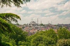 Sultan Ahmed Mosque ou Sultan Ahmet Mosque imagem de stock