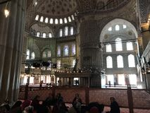 Sultan Ahmed Mosque Royalty Free Stock Photography