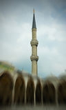 Sultan Ahmed Mosque (The Blue Mosque) In Turkey Royalty Free Stock Photography