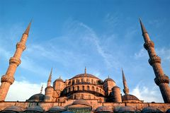 Sultan Ahmed Mosque in Turkey Royalty Free Stock Photography