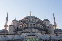 Sultan Ahmed Mosque & x28; Blauwe mosque& x29; Royalty-vrije Stock Fotografie