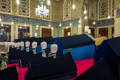 Sultan Ahmed Tomb em Istambul, Turquia imagens de stock