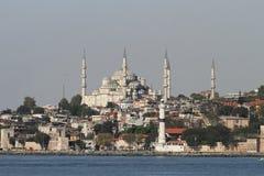 Sultan ahmet Blauwe Moskee in Istanboel Royalty-vrije Stock Afbeeldingen