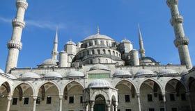 Sultan Ahmet - blauwe moskee, Istanboel in Turkije Royalty-vrije Stock Afbeelding