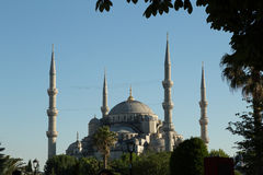 Sultan Ahmet (Blue) mosque Royalty Free Stock Photography
