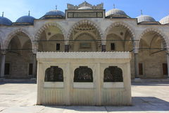 Istanbul, Turkey. Blue Mosque royalty free stock images