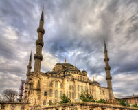 Sultan Ahmet Mosque (Blue Mosque) in Istanbul Stock Photo