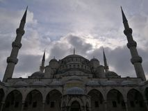Sultan Ahmet Mosque. Dome of Sultan Ahmet Mosque, Istanbul Stock Photography