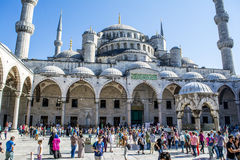 Sultan Ahmet Mosque em Istambul, Turquia Imagem de Stock