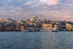 Sultan Ahmet Mosque i Turkiet Arkivbilder
