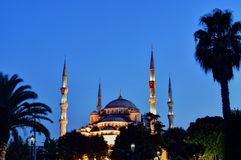 Sultan Ahmet Mosque, Istanbul. Minarets of the Sultan Ahmet Mosque, Istanbul Stock Photo