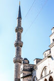 Sultan Ahmet Mosque. Turkey on a sky background Royalty Free Stock Images
