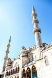 Sultan Ahmet Mosque. Turkey on a sky background Royalty Free Stock Photos