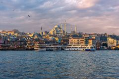 Sultan Ahmet Mosque in Turkije Stock Afbeeldingen