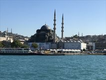 Sultan Ahmet Mosque. View of Sultan Ahmet Mosque - Istanbul Stock Photo