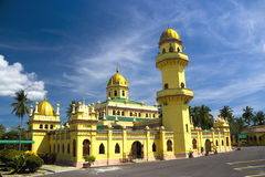 Sultan Alaeddin Mosque, Malaysia Royalty Free Stock Images
