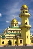 Sultan Alaeddin Mosque, Malaysia. Over a century old Sultan Alaeddin Mosque, located at the old royal town of Jugra, Selangor, Malaysia stock images