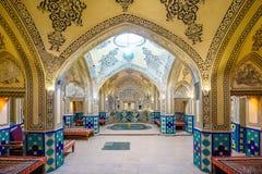 Sultan Amir Ahmad Bathhouse dans Kashan, Iran Photographie stock libre de droits