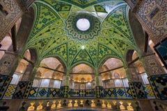 Sultan Amir Ahmad Bathhouse em Kashan, Irã foto de stock royalty free